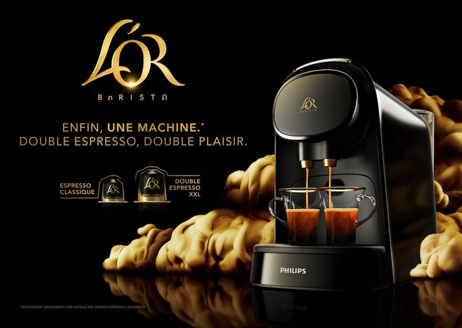 machine à café double expresso