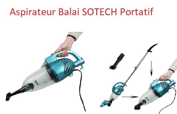 Aspirateur Balai SOTECH Portatif