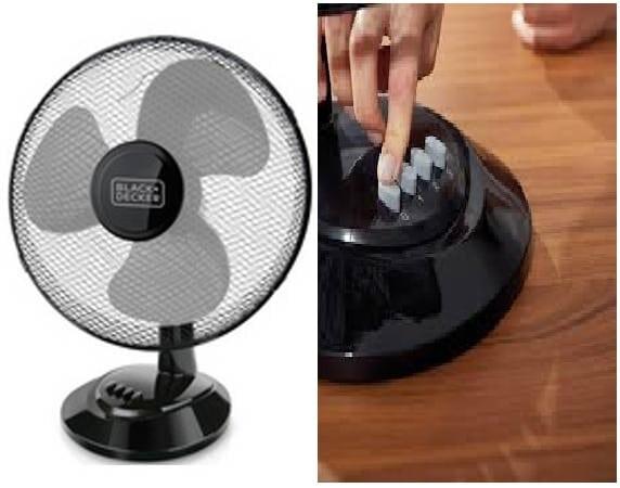 Ventilateur BLACK & DECKER BXEFD41E